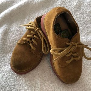 Boys fisher price suede shoes